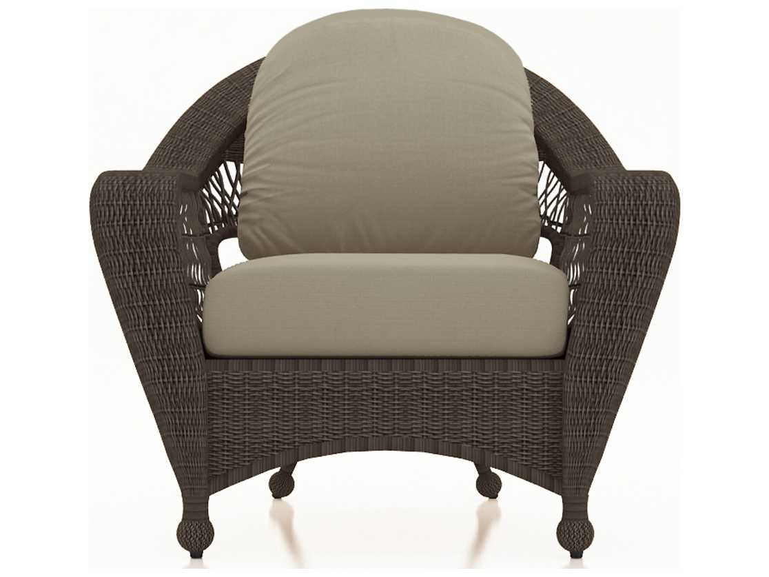 forever patio catalina sable round wicker lounge chair. Black Bedroom Furniture Sets. Home Design Ideas