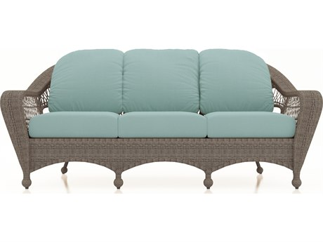 Forever Patio Quick Ship Catalina Heather Wicker Sofa