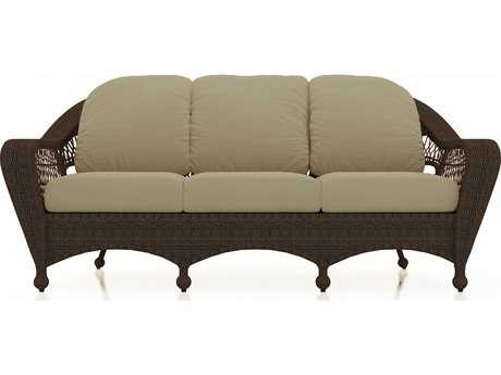 Forever Patio Quick Ship Catalina Sable Round Wicker Sofa