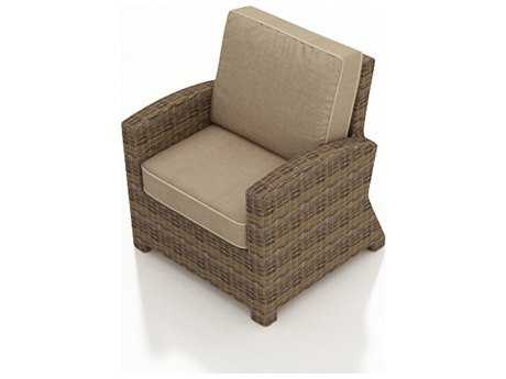 Forever Patio Quick Ship Cypress Heather Round Wicker Lounge Chair