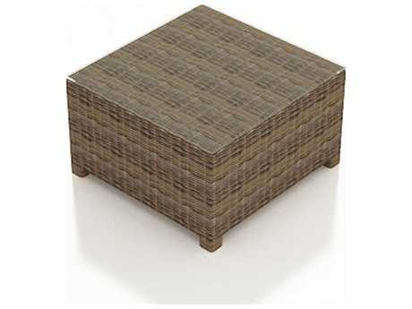 Forever Patio Cypress Wicker 32 Square Coffee Table