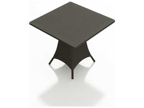 Forever Patio Hampton Wicker 36 Square Bar Table