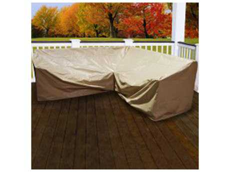 Forever Patio 5 Piece Hampton L-Shape Sectional Cover
