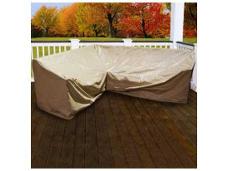 Forever Patio 6 Piece Hampton L-Shape Left-Weighted Sectional Cover