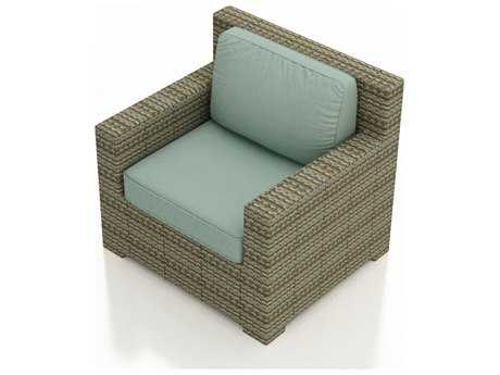 Forever Patio Quick Ship Hampton Heather Wicker Lounge Chair