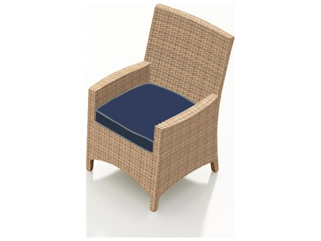 Forever Patio Quick Ship Wicker Biscuit Dining Chair PatioLiving