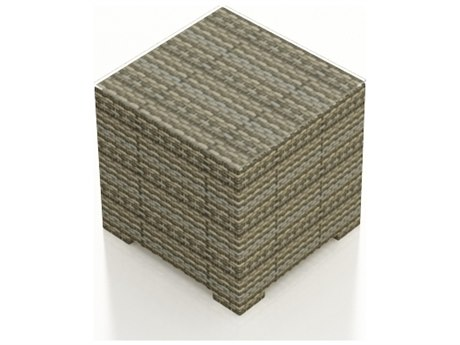 Forever Patio Hampton Heather Wicker 22 Square End Table
