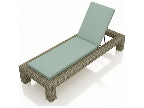 Forever Patio Quick Ship Hampton Heather Wicker Chaise Lounge