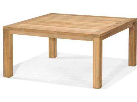 Forever Patio Lancaster Teak 43 Square Reclaimed Dining Table