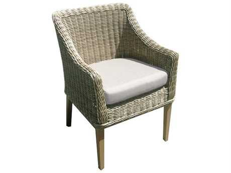 Forever Patio Lassiter Wicker Dining Arm Chair