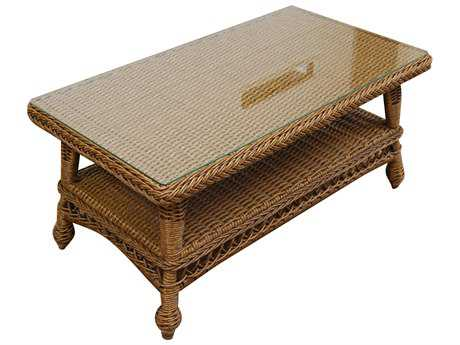 Forever Patio Madison Wicker 40 x 22 Rectangular Coffee Table