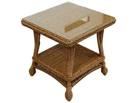 Forever Patio Madison Wicker 22 Square End Table