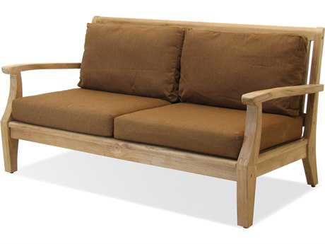 Forever Patio Quick Ship Miramar Plantation Teak Sofa
