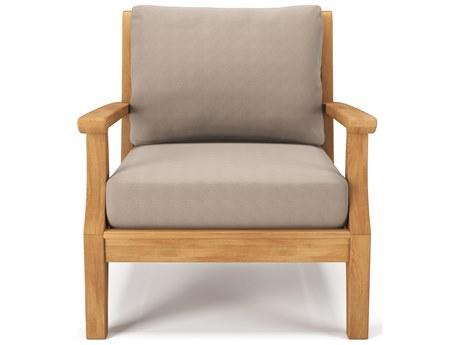 Forever Patio Miramar Plantation Teak Lounge Chair PatioLiving