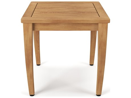 Forever Patio Miramar Plantation Teak 20 Square End Table