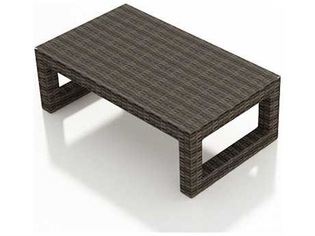 Forever Patio Pavilion Wicker 55 x 33 Rectangular Coffee Table