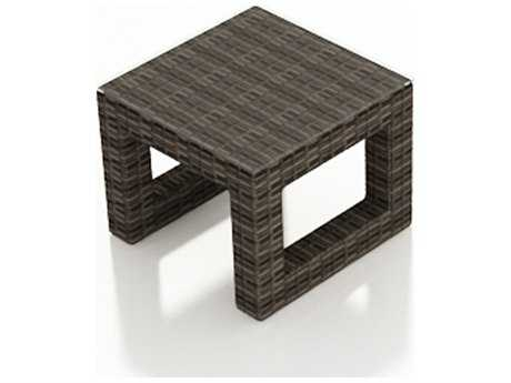 Forever Patio Pavilion Wicker 24 Square End Table