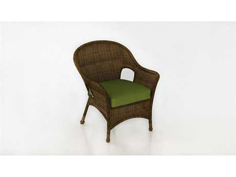 Forever Patio Rockport Chestnut Wicker Lounge Chair