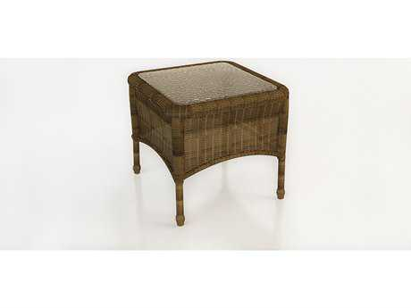Forever Patio Rockport Wicker 20 Square End Table