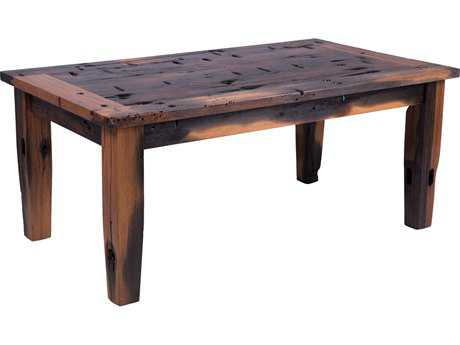 Forever Patio Rustica Ancient Shipwood 42 x 24 Rectangular Coffee Table