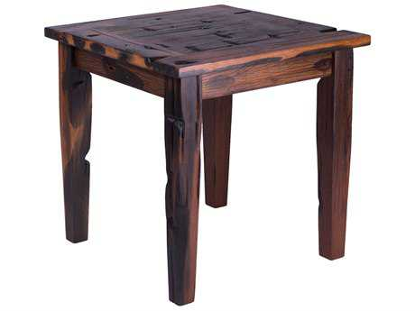Forever Patio Rustica Ancient Shipwood 22 Square End Table