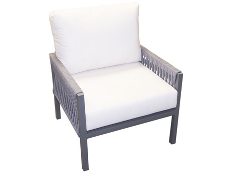 Forever Patio Selene Aluminum Sterling Lounge Chair PatioLiving
