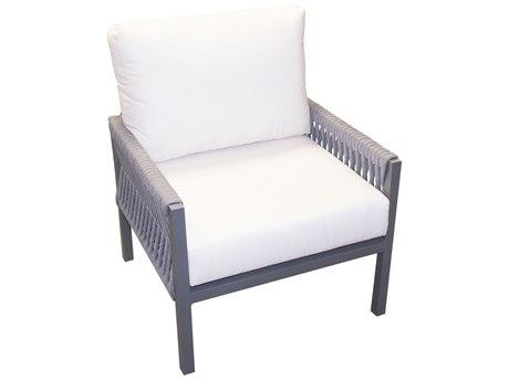 Forever Patio Selene Sterling Aluminum Lounge Chair