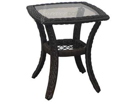 Forever Patio Santa Monica Wicker 20.5 Square End Table