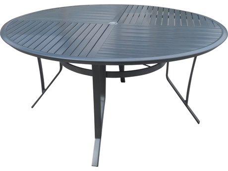Forever Patio Spirit Sterling Aluminum 60 Round Dining Table