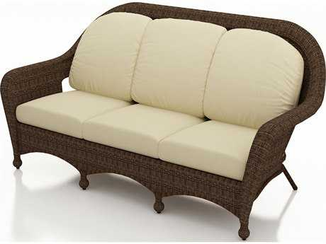Forever Patio Quick Ship Winslow Cocoa Wicker Sofa