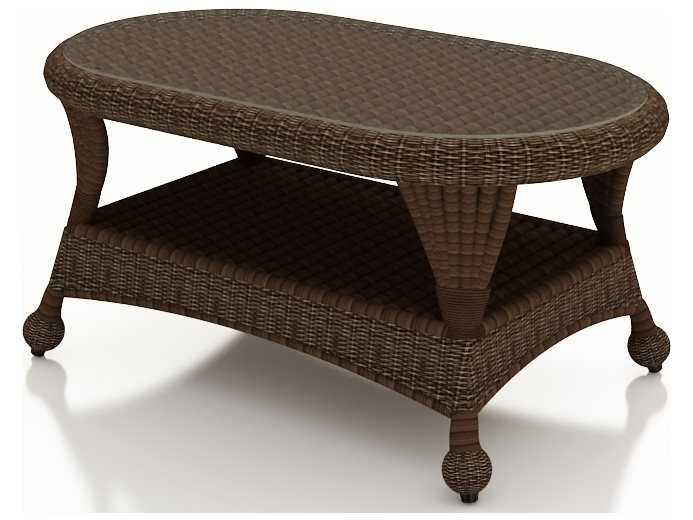 Oval Outdoor Coffee Table Alfresco Home Bolla Mosaic