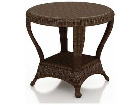 Forever Patio Winslow Wicker 22 Round End Table