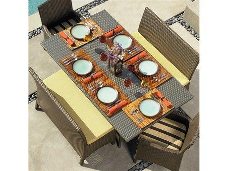 Forever Patio Hampton Wicker Dining Set