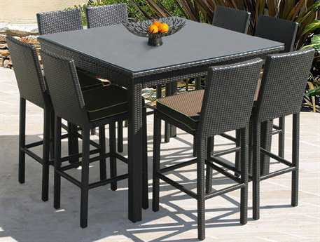 Forever Patio Barbados Wicker Bar Set