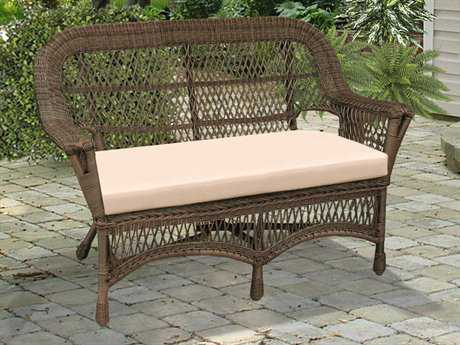 NorthCape Manchester Wicker Cushion Arm Loveseat
