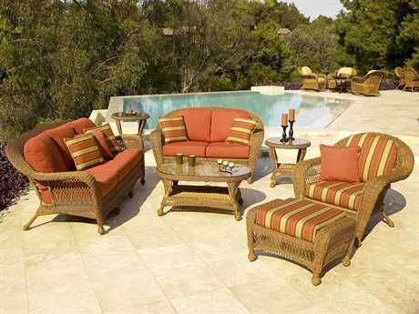 Forever Patio Catalina Wicker Lounge Set