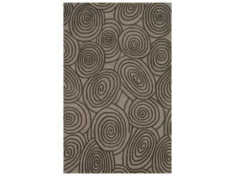 Noble House Beverly Rectangular Beige & Brown Area Rug
