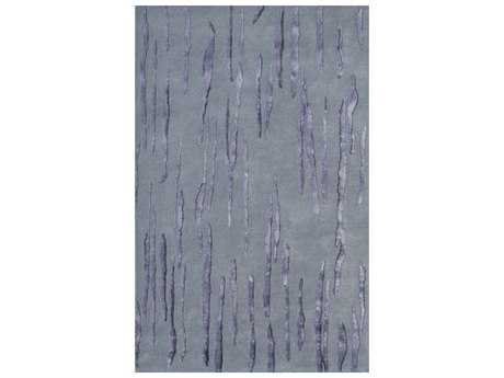 Noble House Citadel Light Blue Rectangular Area Rug
