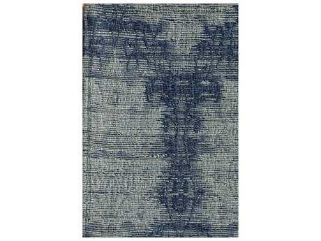Noble House Electra Sky Blue Rectangular Area Rug