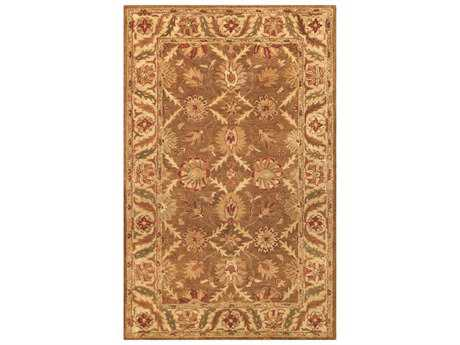 Noble House Golden Gold & Beige Rectangular Area Rug