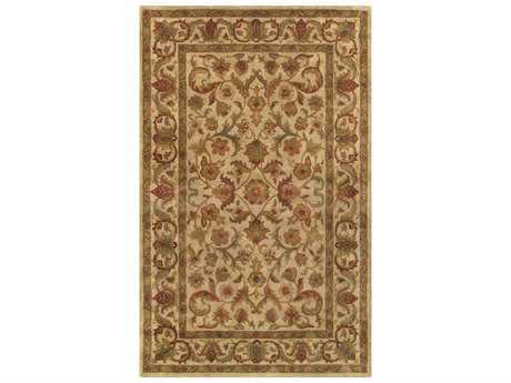 Noble House Imperial Beige & Beige Rectangular Area Rug