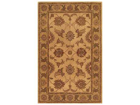 Noble House Imperial Beige & Gold Rectangular Area Rug