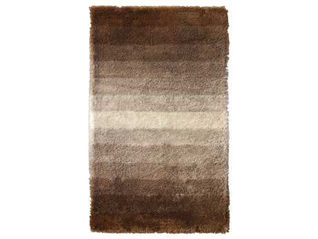 Noble House Jewel Rectangular Brown & White Area Rug