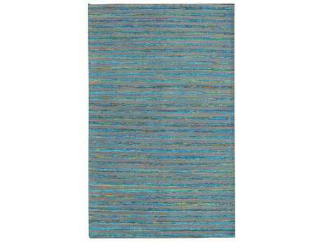 Noble House Lazzarro Rectangular Turquoise Area Rug