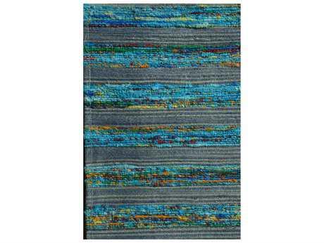 Noble House Lazzarro Rectangular Turquoise Area Rug