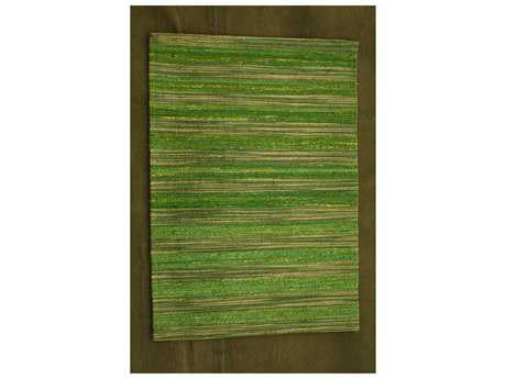 Noble House Lazzarro Green Rectangular Area Rug