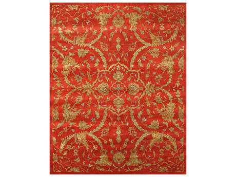Noble House Legacy Rectangular Red Area Rug