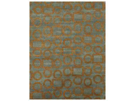 Noble House Legacy Grey & Gold Rectangular Area Rug