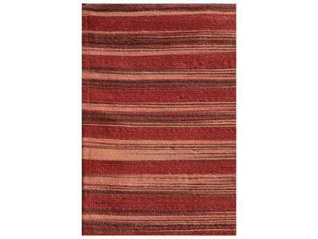 Noble House Marvel Red Rectangular Area Rug
