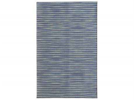 Noble House Marvel Rectangular Blue Area Rug